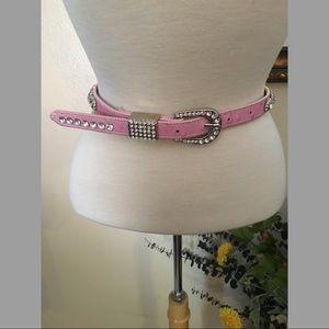 Accessories - Pink Belt